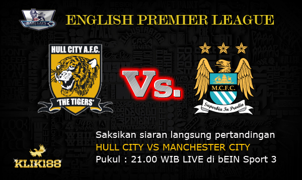HULL CITY VS MANCHESTER CITY