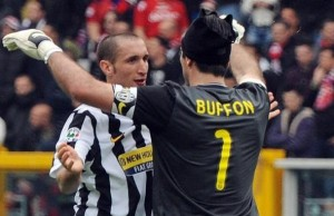 BUffon dan Chiellini