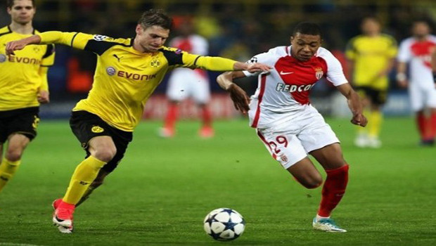 Cuplikan Gol Monaco vs Borussia Dortmund 20 April 2017