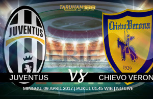 Prediksi Juventus vs Chievo 08 April 2017