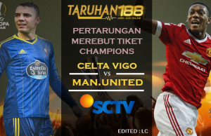 Prediksi Celta Vigo vs Manchester United 05 April 2017