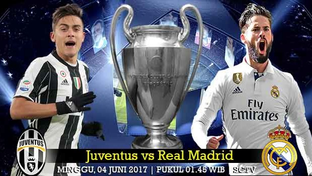 Prediksi Juventus vs Real Madrid Final UEFA Champions League