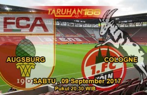 Prediksi Bola Augsburg vs FC Cologne 09 September 2017