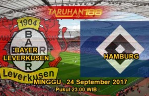 Prediksi Bola Bayer Leverkusen vs Hamburg 24 September 2017