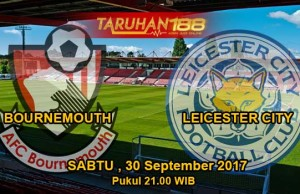Prediksi Bola Bournemouth vs Leicester City 30 September 2017