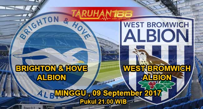 Prediksi Bola Brighton hove albion vs West Bromwich 09 september 2017