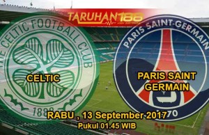 Prediksi Bola Celtic vs Paris Saint Germain 13 September 2017