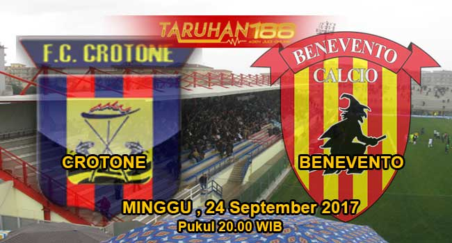 Prediksi Bola Crotone vs Benevento 24 September 2017