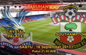 Prediksi Bola Crystal Palace vs Southampton 16 September 2017
