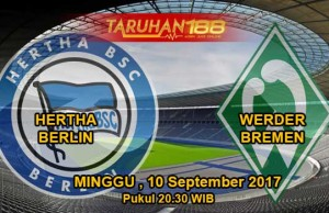 Prediksi Hertha Berlin vs Werder Bremen 10 September 2017