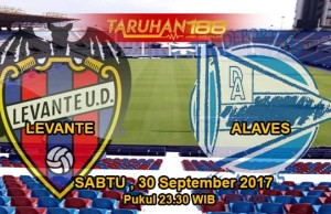 Prediksi Bola Levante vs Alaves 30 September 2017
