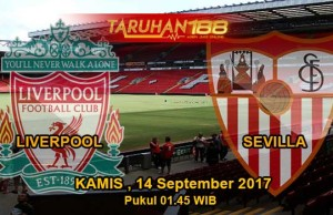 Prediksi Bola Liverpool vs Sevilla 14 September 2017
