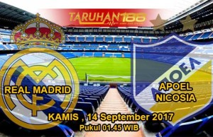 Prediksi Bola Real Madrid vs APOEL Nicosia 14 September 2017