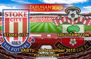 Prediksi Bola Stoke City vs Southampton 30 September 2017