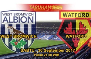 Prediksi Bola West Bromwich Albion vs Watford 30 September 2017