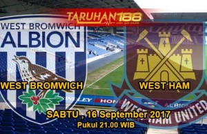 Prediksi Bola West Bromwich vs West Ham 16 September 2017