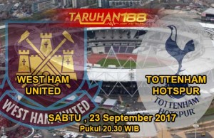 Prediksi Bola West Ham United vs Tottenham Hotspur 24 September 2017