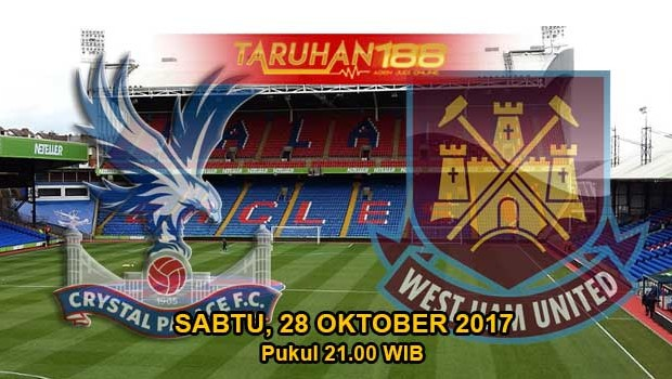 Prediksi Bola Crystal Palace vs West Ham United 28 Oktober 2017